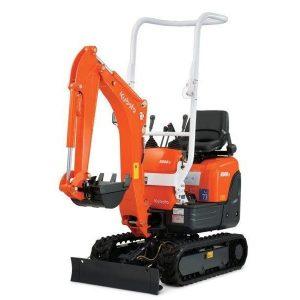 mini digger and operator hire